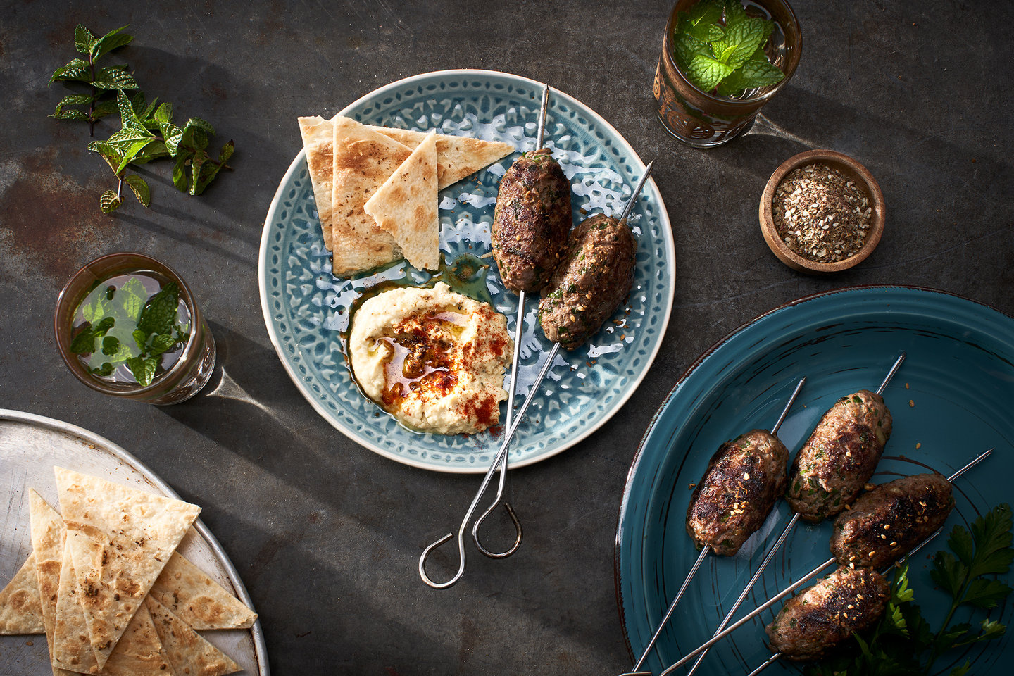 Hero image for Middle Eastern Wagyu Koftas