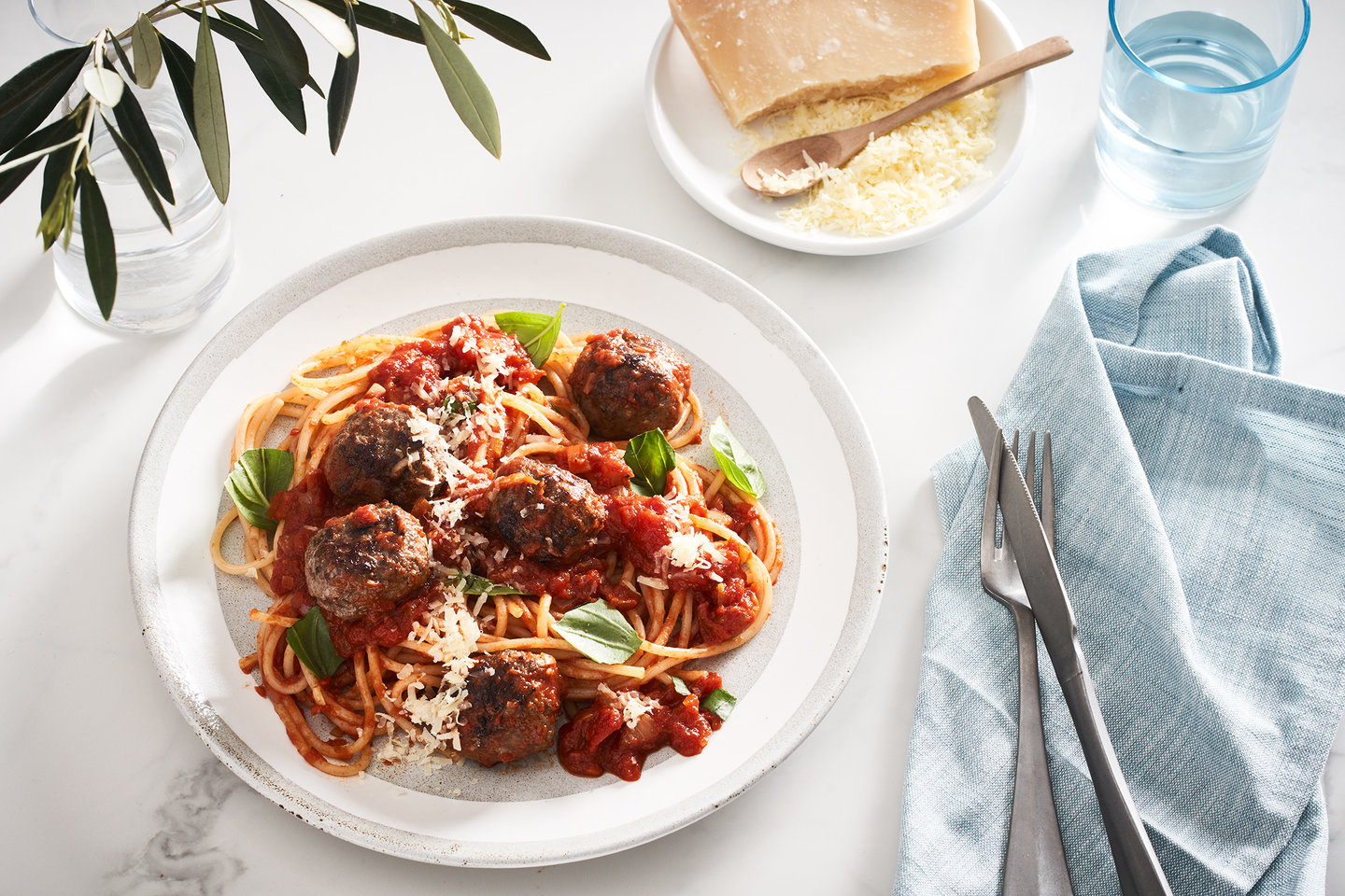 Hero image for First Light old-school Italian spaghetti 'n' meatballs