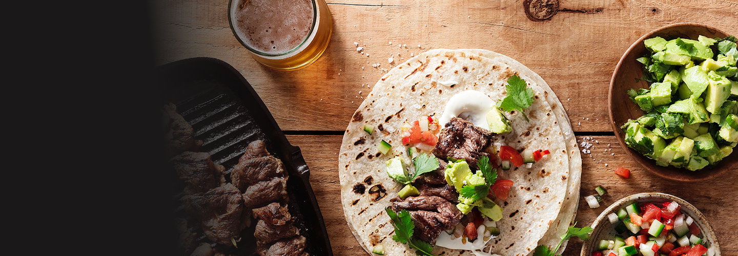 Hero image for First Light venison mexican tortillas