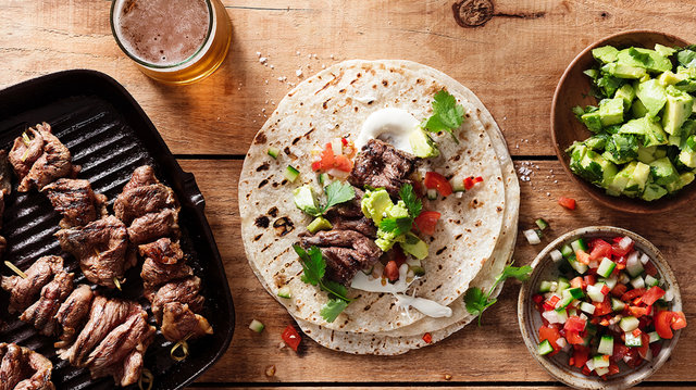 Teaser image for First Light venison mexican tortillas